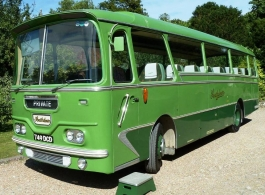 1963 single deck bus for weddings in Portsmouth
